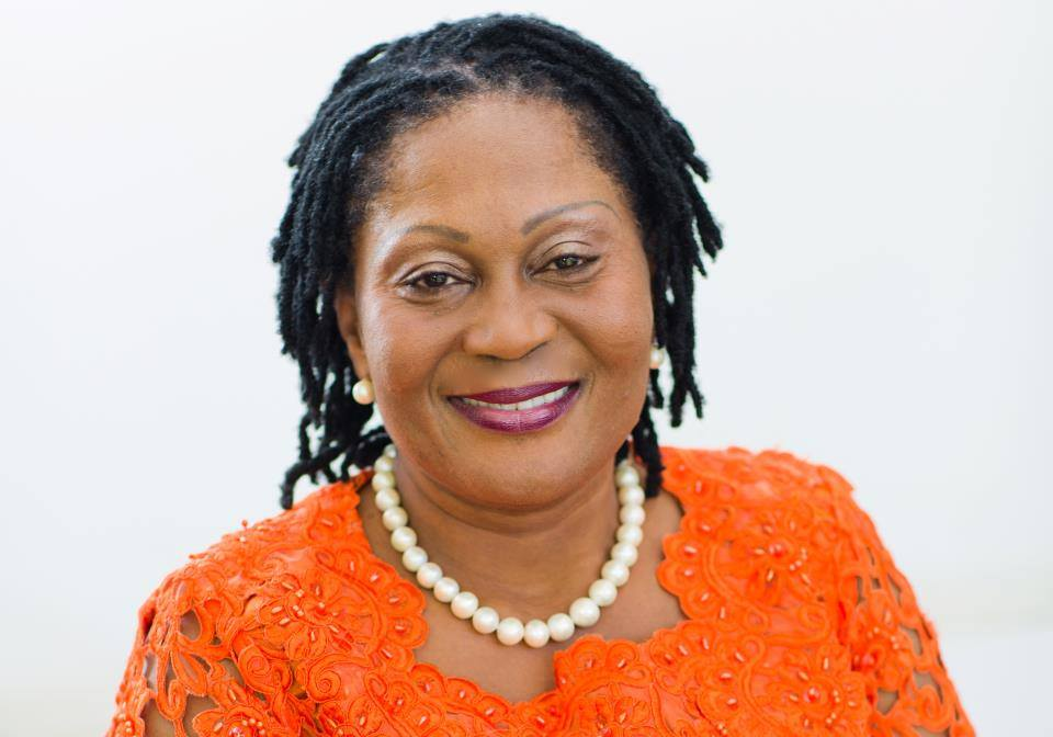 Her Excellency Lordina Mahama